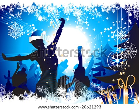 Winter dance Stock Photos, Illustrations, and Vector Art