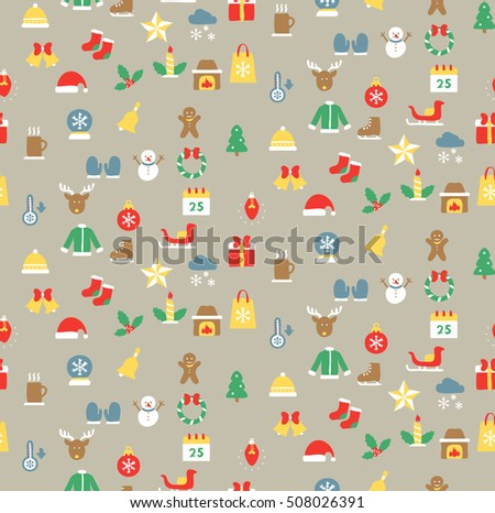 Christmas pattern. wrapper