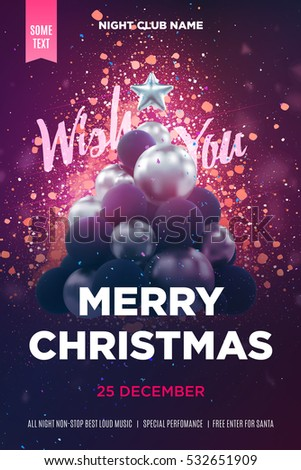 Christmas Poster Stock Images RoyaltyFree Images  Vectors