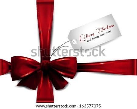 Christmas present - stock vector
