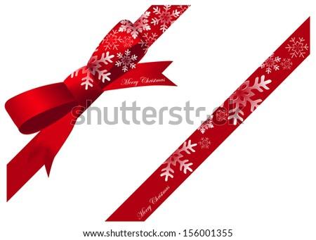 Christmas Ribbon Stock Images, Royalty-Free Images & Vectors ...