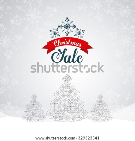 christmas sale design, vector illustration eps10 graphic