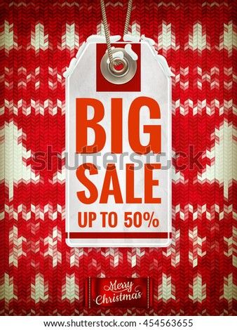 Christmas sale. EPS 10 vector file included - stock vector