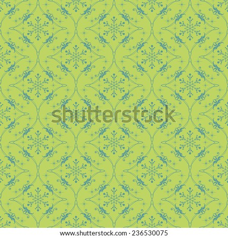 Christmas - Seamless pattern - retro