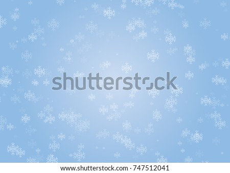 Christmas snowflakes background can use for design, vector.