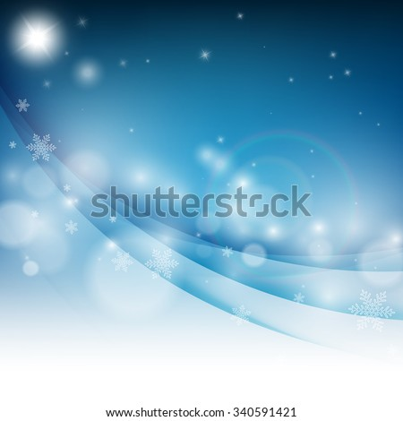 Christmas star. vector design with copy space. Eps10 - stock vector