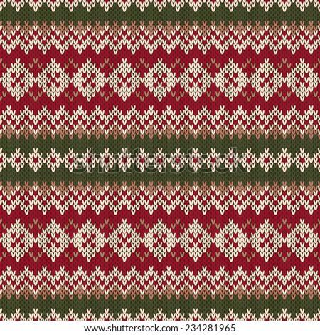 Knit Christmas Sweater Pattern :
