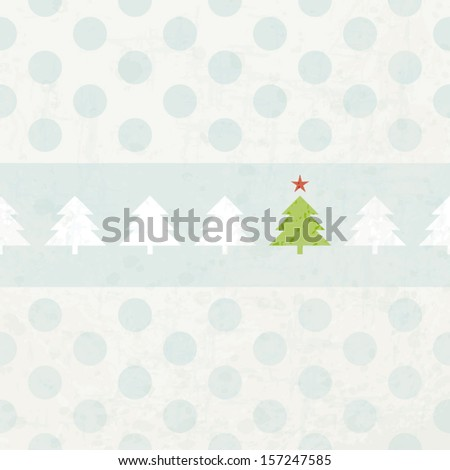christmas time - stock vector