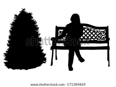 Christmas-tree - stock vector