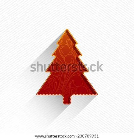 Christmas tree - stock vector