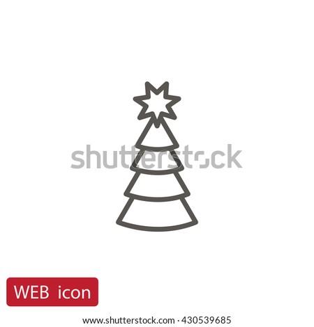 Christmas tree icon.Christmas tree icon Vector.Christmas tree icon Art.Christmas tree icon eps.Christmas tree icon Image.Christmas tree icon logo.Christmas tree icon Sign. Christmas tree icon Flat. - stock vector