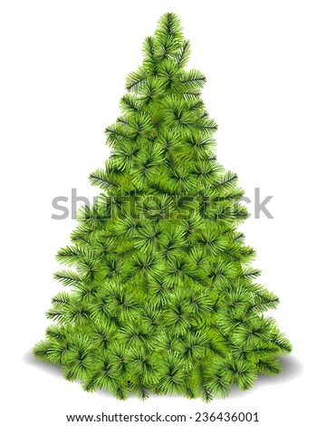 Christmas Tree.Vector - stock vector