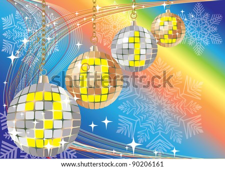 Christmas vector background.