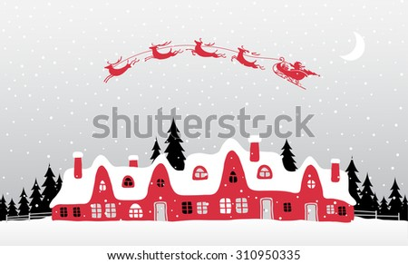Christmass Background - stock vector