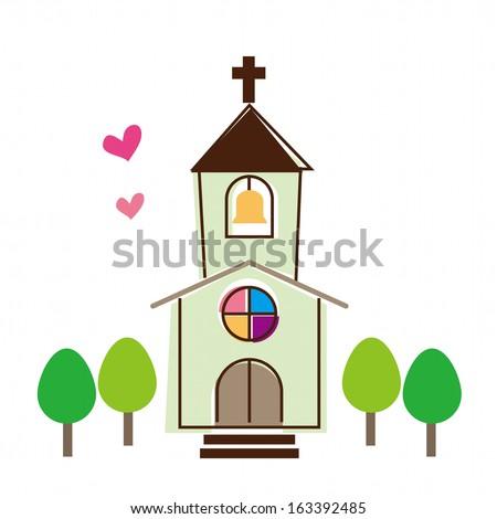 Church - stock vector