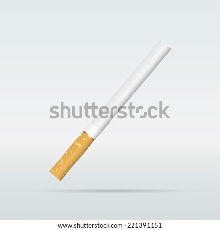 Cigarette - stock vector