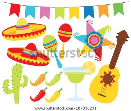 Cinco De Mayo / Mexico / Fiesta - stock vector