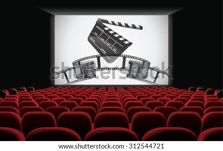 Cinema - stock vector