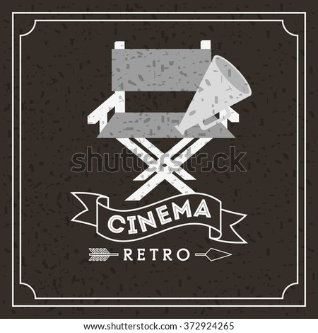 cinema entertainment design, vector illustration eps10 graphic