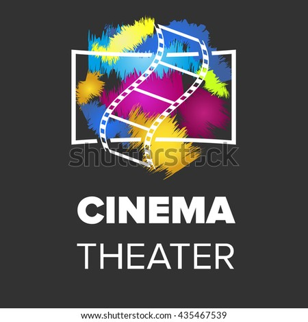 cinema hall icon