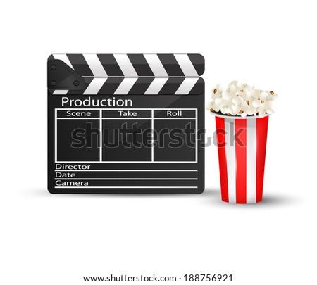 Cinema icon. Vector eps10 - stock vector
