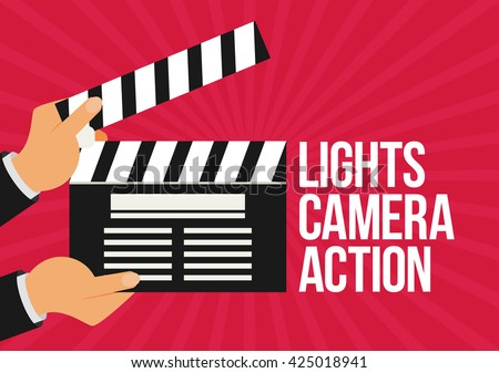 Lights Camera Action Stock Images, Royalty-Free Images & Vectors ...