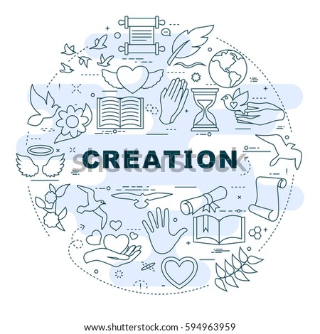 God Creation Stock Images Royalty Free Images Amp Vectors