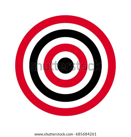 circle target archery target shoot target stock photo photo vector rh shutterstock com  target logo vector free download