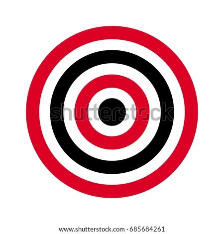 circle target archery target shoot target stock photo photo vector rh shutterstock com target australia logo vector