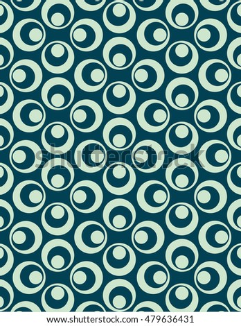Circle pattern used to create abstract background