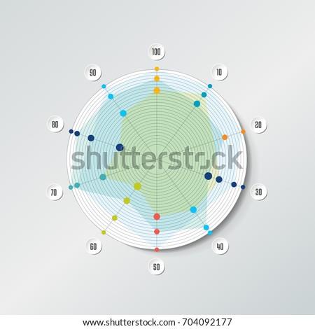 Circle radar spider net chart graph stock vector 704092177 circle radar spider net chart graph infographics element ccuart Gallery
