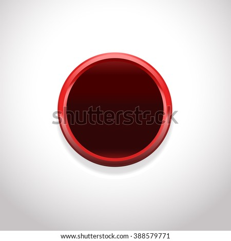 circle shape button, round frame blank template, smooth background