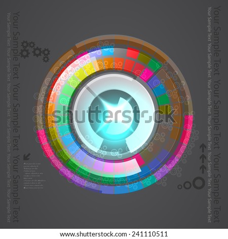 Circle Spectrum Technology Background