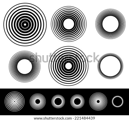 Circles - stock vector