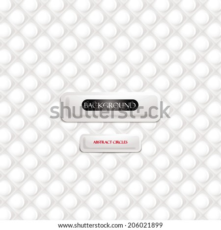 Circles design abstract background - stock vector