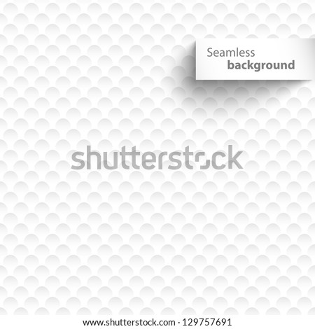 Circles seamless background - stock vector