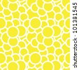 Circles seamless pattern . Vector illustration - stock