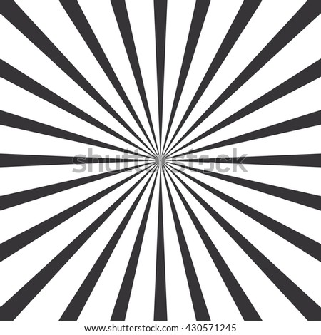 circular light scattered behind. Radial background.  - stock vector