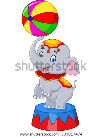 Circus elephant traditional costume isolated on white background  sc 1 st  Shutterstock : circus elephant costume  - Germanpascual.Com