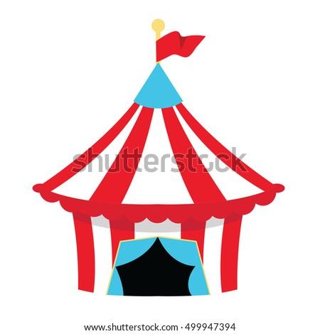 circus tent clip art party fun stock vector 499947394 shutterstock rh shutterstock com circus tent clip art free circus tent clip art with pendants