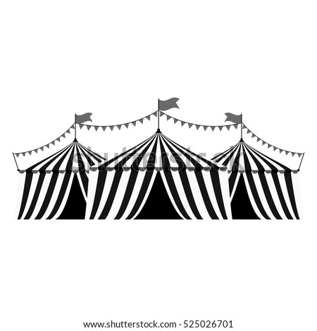 Circus tent festival icon vector illustration graphic design  sc 1 st  Shutterstock & Circus Tent Festival Icon Vector Illustration Stock Vector ...