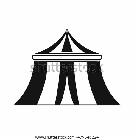Circus tent icon in simple style isolated on white background vector illustration  sc 1 st  Shutterstock & Circus Tent Icon Simple Style Isolated Stock Vector 479546224 ...