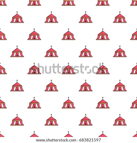Circus tent pattern  sc 1 st  Shutterstock & Circus Tent Pattern Stock Vector 683821597 - Shutterstock