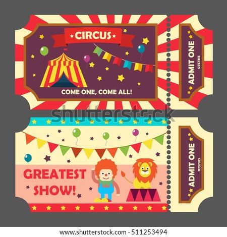 Concert ticket template free download