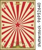 Circus vintage. A retro circus background for your show - stock photo