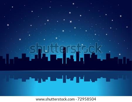 city - stock vector