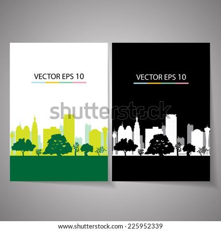 city Background - stock vector