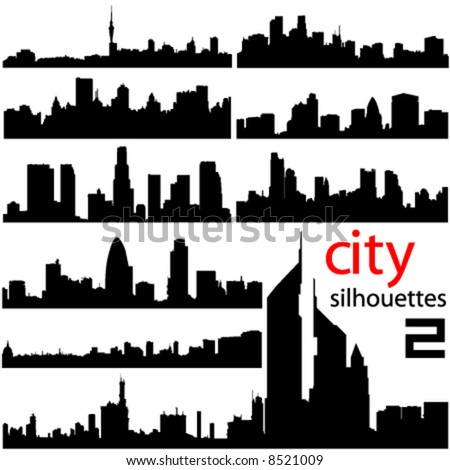 city background 2 vector - stock vector