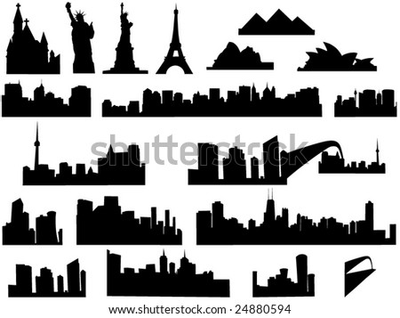 City Skyline Logo City Skyline Illustration