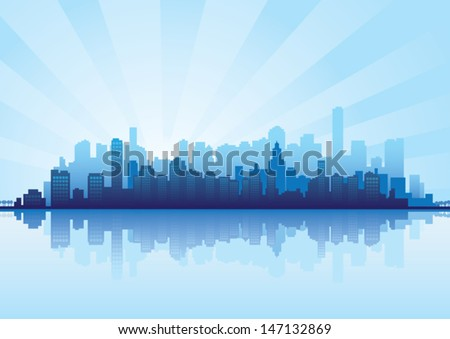 Cityscape - stock vector